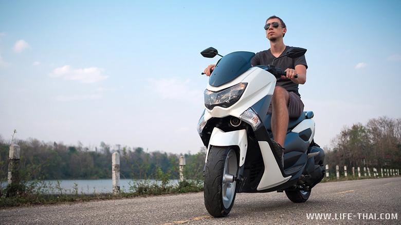Скутер Yamaha Nmax, цена аренды от 300-400 батов в день