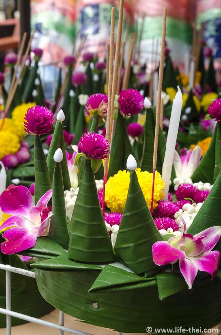 Фестиваль Лоу Кратонг в Таиланде