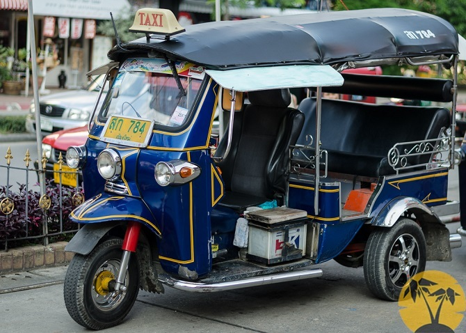 Тук-тук, Таиланд