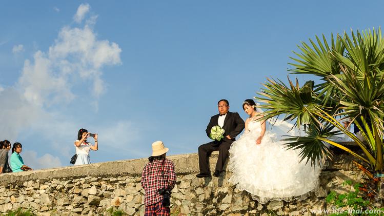Свадьба, Мыс Промтхеп Кейп, Пхукет, Таиланд