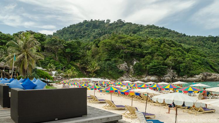 Главный пляж острова Рача, Пхукет, Таиланд