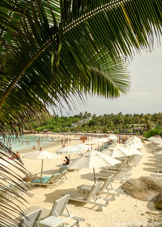 Главный пляж острова Рача, Таиланд