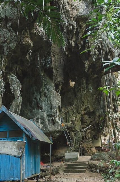 Тигровая пещера, Краби
