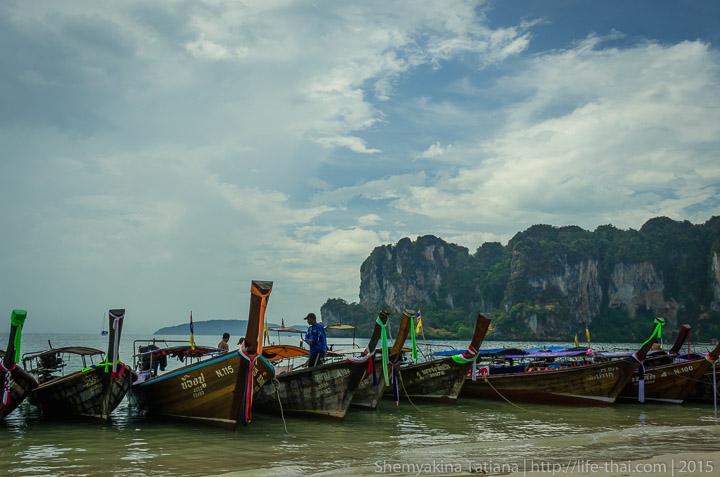 Тайская лодка-длиннохвостка