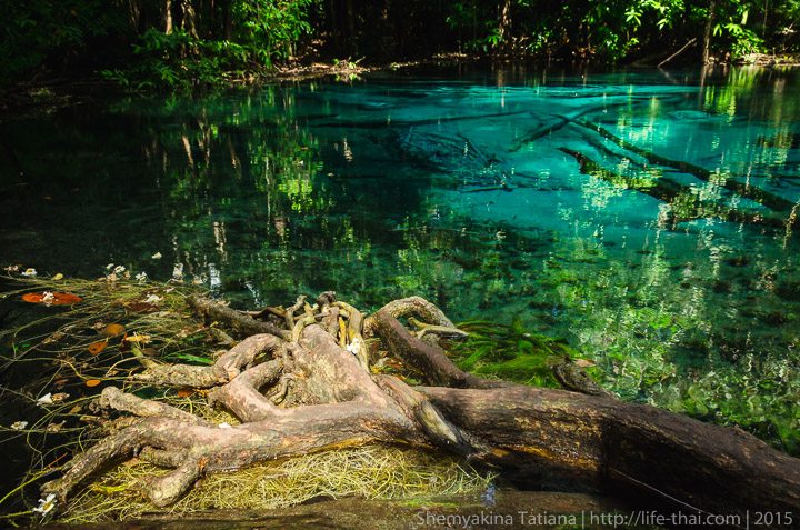 Blue Pool, Ао Нанг, Краби