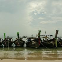 Краби, тайские лодки