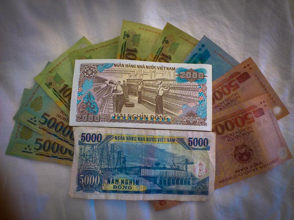 Курс вьетнамской валюты к рублю