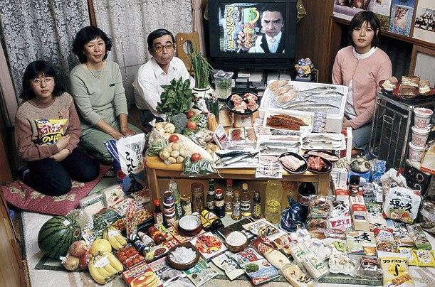 Япония: семья Укита Кодаиры