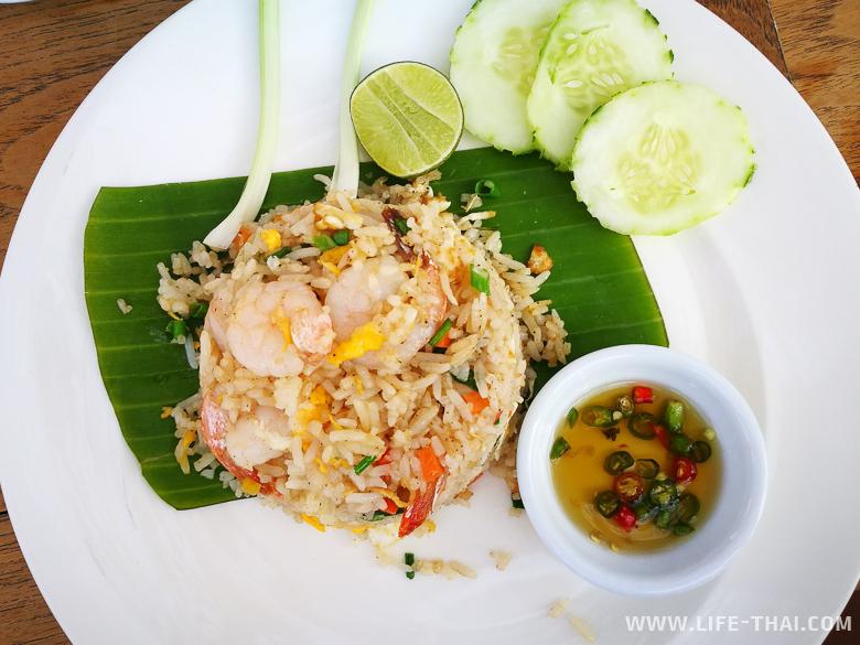 Тайский жареный рис - самый вкусный рис на свете