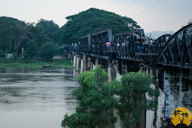 Мост через реку Кваи в Канчанабури