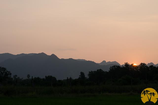 Горы Канчанабури