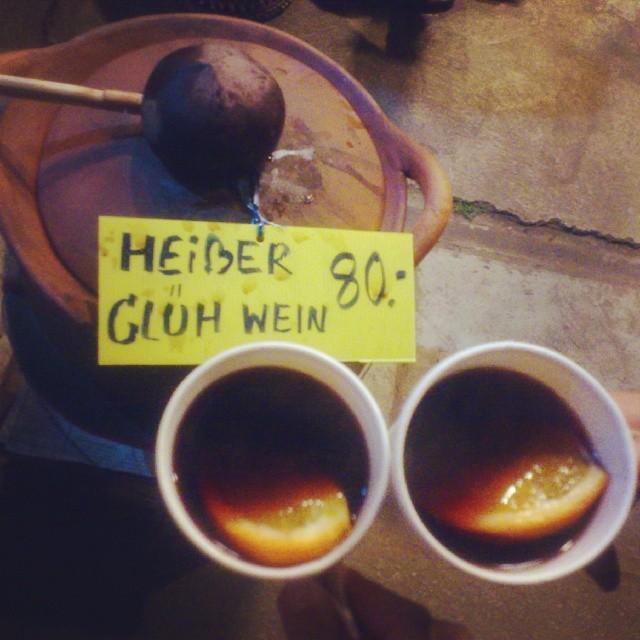 Пьем глинтвейн в Пае, северный Таиланд