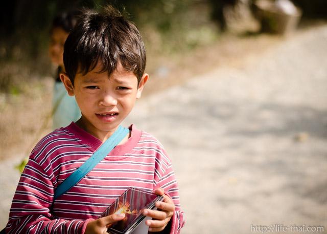 Камбоджийский мальчик