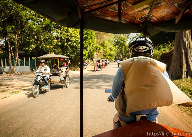 Камбоджийский водитель