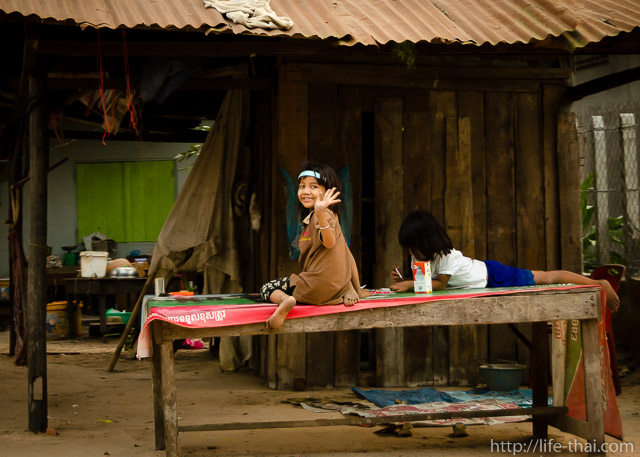 Камбоджийские дети