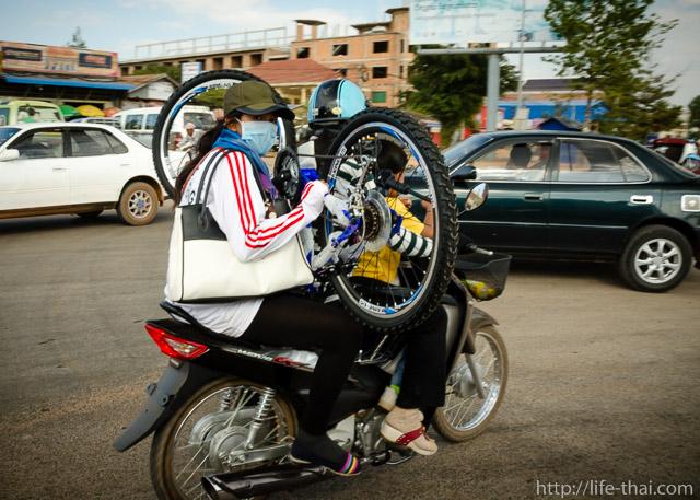 Камбоджийское дорожное движение