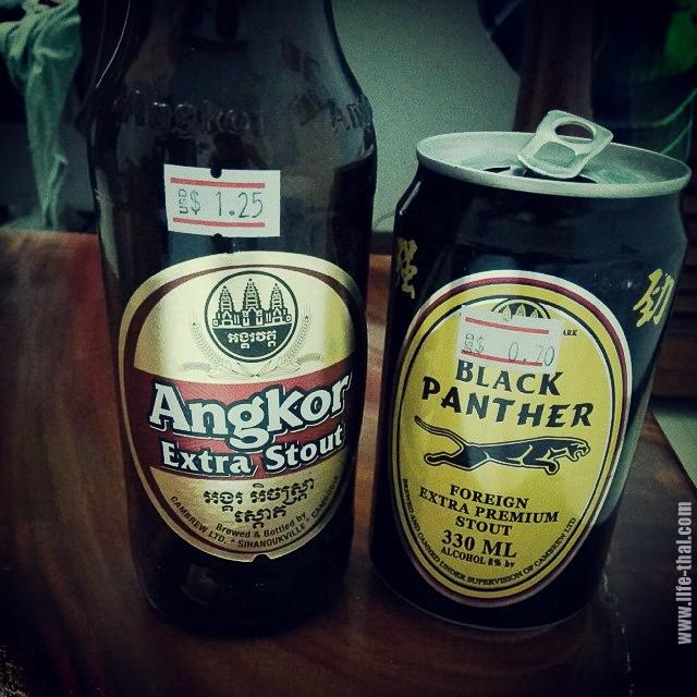 Камбоджийское тёмное пиво