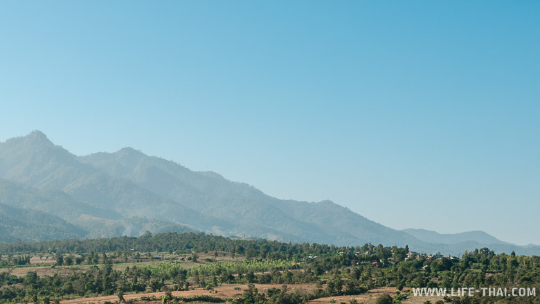 Горы в Пае