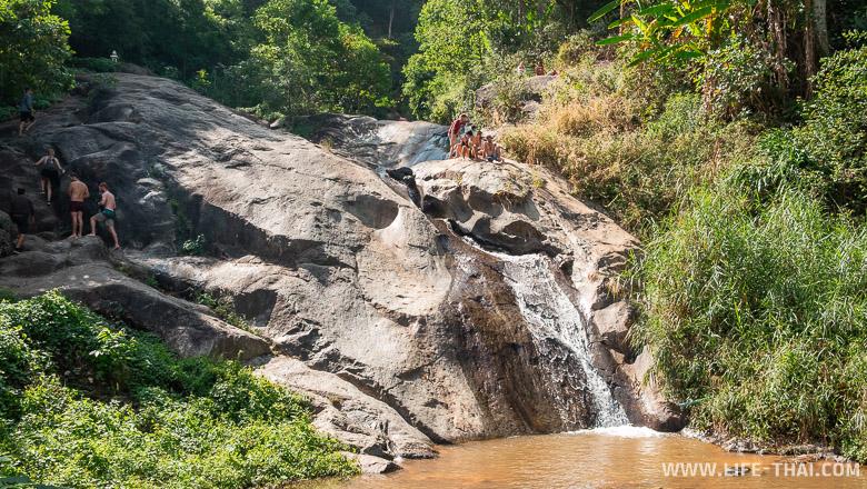 Достопримечательности Пай - водопады