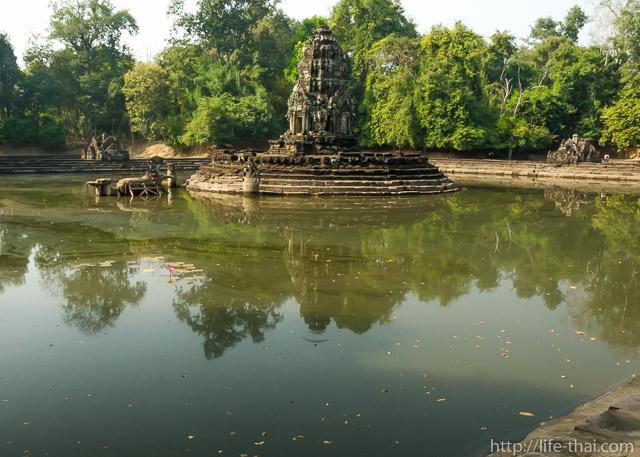 Ник Пин, Ангкор, Камбоджа