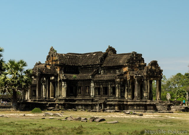 Библиотека, Ангкор-ват