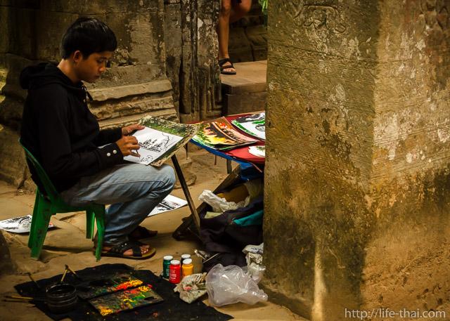 Та Прохм, Ангкор, Камбоджа
