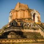 Ват Чеди Луанг или место, где молния убила короля