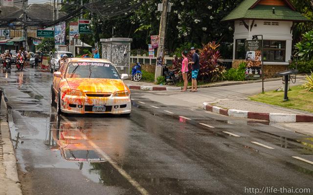 Сонгкран 2014, Самуи, Таиланд
