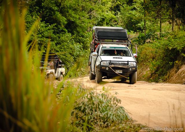 Оффроад-сафари, Самуи, Таиланд