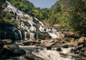 Водопад, Doi Inthanon