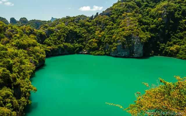 Изумрудное озеро, Ang Thong, Thailand