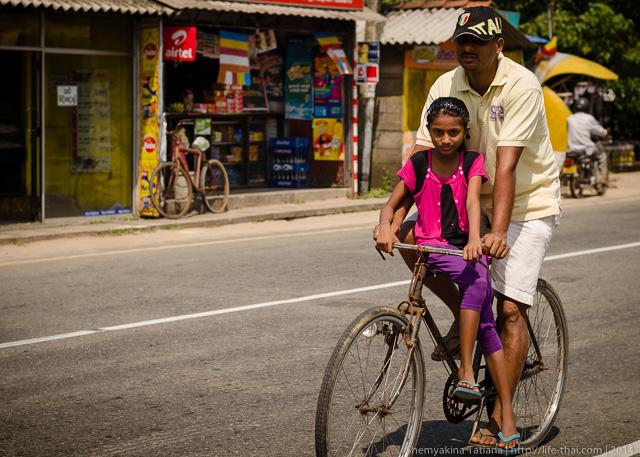 Велосипед, Шри Ланка