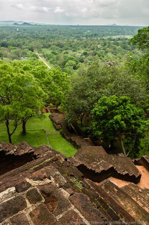 Львиная скала, Сигирия, Шри Ланка