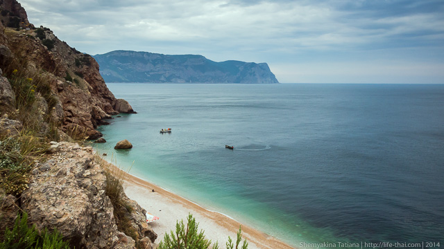 Бухта Васили, Балаклава, Крым
