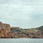 Бухта Васили. Вид с моря