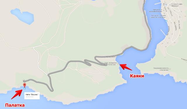 Карта, Балаклава, Крым