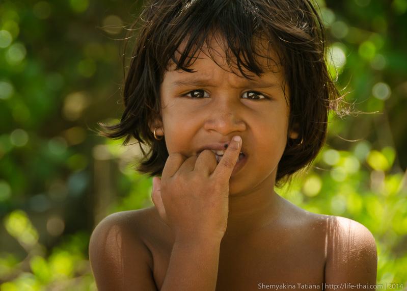 Девочка, Шри Ланка