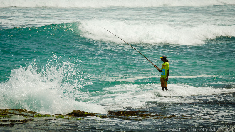 Рыбак, Шри Ланка