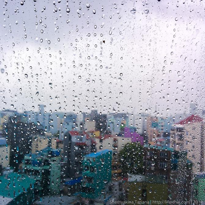 Дождь, Мальдивы