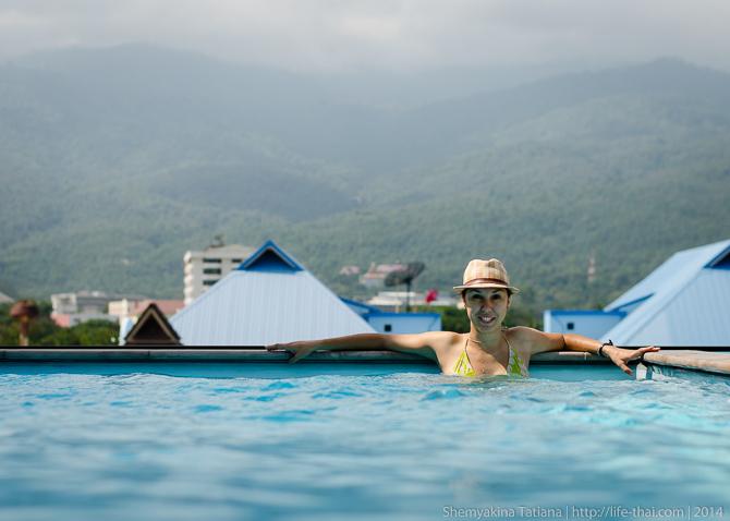 Чианг Май, дом с бассейном