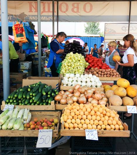 Цены на фрукты/овощи, Крым