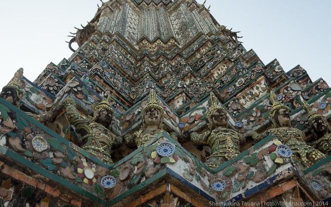 Ват-Арун, Бангкок, Таиланд