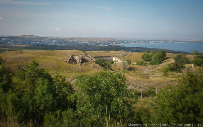 Форт Тотлебен, Керчь, Крым