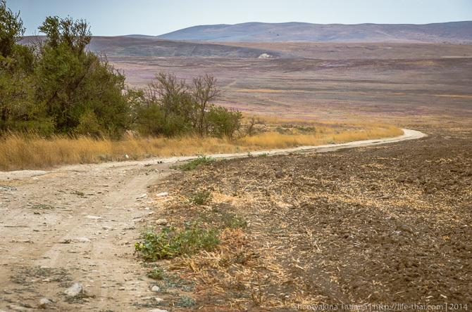 Дорога, Керченский полуостров