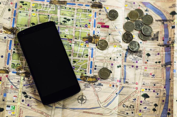 Карта, деньги, телефон
