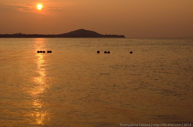 Закат, Самуи, Таиланд