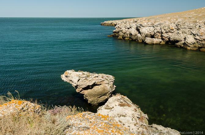 мыс Казантип, Крым