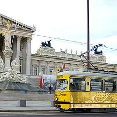 Кольцевой трамвай в Вене