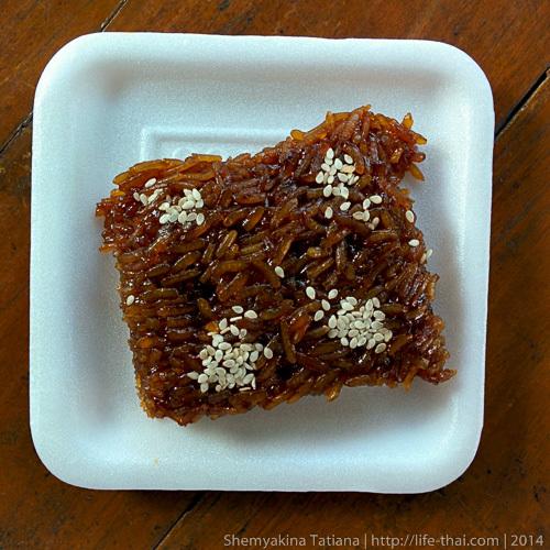 Десерт из риса, Таиланд