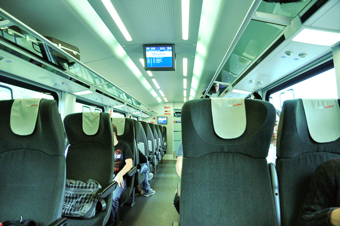 Поезд, Австрия